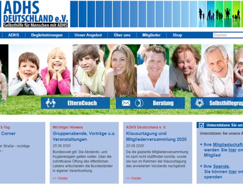 Kooperation mit ADHS-Deutschland