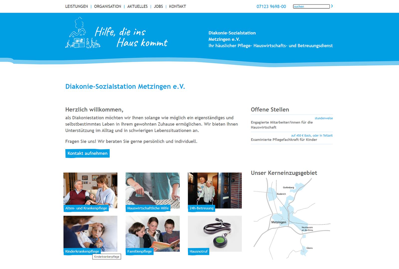 Diakonie-Sozialstation Metzingen Home