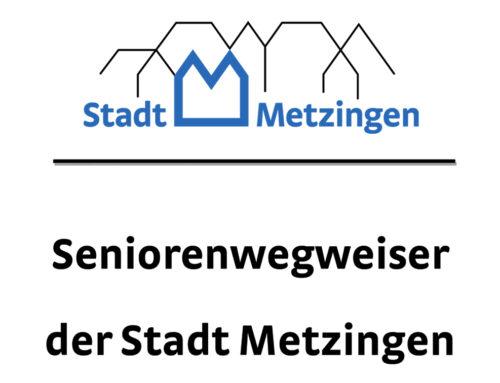 Seniorenwegweiser der Stadt Metzingen